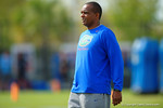 Florida Gators associate head coach Randy Shannon watches on as spring practice continues.  Florida Gators Spring Practice.  March 18th, 2016. Gator Country photo by David Bowie.
