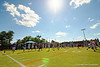 The Florida Gators warm up during football spring practice.  Florida Gators Football Spring Practice.  March 25th, 2016. Gator Country photo by David Bowie.