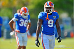 Florida Gators wide receiver Latroy Pittman during football spring practice.  Florida Gators Football Spring Practice.  March 25th, 2016. Gator Country photo by David Bowie.