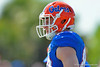 Florida Gators tight end Jake McGee during football spring practice.  Florida Gators Football Spring Practice.  March 25th, 2016. Gator Country photo by David Bowie.