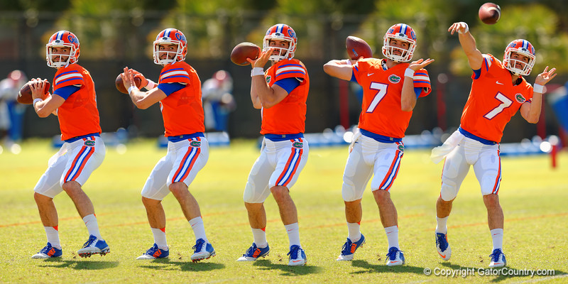 A compilation of Florida Gators quarterback Will Grier throwing downfield during spring practice.  Florida Gators Football Spring Practice.  March 25th, 2016. Gator Country photo by David Bowie.