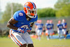 Florida Gators defensive back Nick Washington drops back into coverage during a position drill.  Florida Gators Football Sixth Spring Practice.  March 25th, 2016. Gator Country photo by David Bowie.