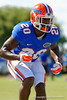 Florida Gators defensive back Marcus Maye drops back into coverage during a position drill.  Florida Gators Football Sixth Spring Practice.  March 25th, 2016. Gator Country photo by David Bowie.