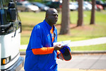 Florida Gators defensive line coach Chris Rumph , Florida Gators Football Sixth Spring Practice.  March 25th, 2016. Gator Country photo by David Bowie.
