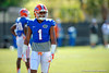 Florida Gators defensive back Vernon Hargreaves, III awaits the next play to begin during a position drill.  Florida Gators Football Sixth Spring Practice.  March 25th, 2016. Gator Country photo by David Bowie.