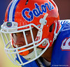 Florida Gators defensive back Quincey Wilson with his eyes locked on his target.  Florida Gators Football Sixth Spring Practice.  March 25th, 2016. Gator Country photo by David Bowie.