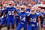 Florida Gators defensive back Brian Poole and the Gators take the field as the Florida Gators take on the Florida Atlantic University Owls.  November 21st, 2015. Gator Country photo by David Bowie.