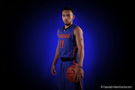 Florida Gators guard Chris Chiozza poses for portraits during the 2015 Gators basketball media day.  September 29th, 2015. Gator Country photo by David Bowie.