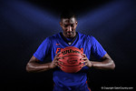 Florida Gators guard DeVon Walker poses for portraits during the 2015 Gators basketball media day.  September 29th, 2015. Gator Country photo by David Bowie.