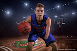 Florida Gators guard Zach Hodskins poses for portraits during the 2015 Gators basketball media day.  September 29th, 2015. Gator Country photo by David Bowie.