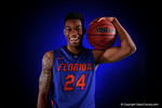 Florida Gators guard Justin Leon poses for portraits during the 2015 Gators basketball media day.  September 29th, 2015. Gator Country photo by David Bowie.