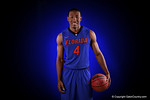 Florida Gators guard KeVaughn Allen poses for portraits during the 2015 Gators basketball media day.  September 29th, 2015. Gator Country photo by David Bowie.