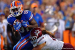 Florida Gators wide receiver Antonio Callaway makes a catch during the Gators 61-13 win over New Mexico State to start the 2015 season.  September 5th, 2015.  Gator Country Photo by David Bowie.