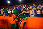 Albert, Alberta and some Gator fans cheer on their Florida Gators during the Gators 61-13 win over New Mexico State to start the 2015 season.  September 5th, 2015.  Gator Country Photo by David Bowie.