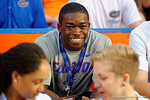 University of Florida Gators recruit Sam Bruce  in attendance during the Gators 61-13 win over New Mexico State to start the 2015 season.  September 5th, 2015.  Gator Country Photo by David Bowie.