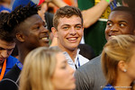 Florida Gators 2017 recruit Jake Allen in attendance during the Gators 61-13 win over New Mexico State to start the 2015 season.  September 5th, 2015.  Gator Country Photo by David Bowie.