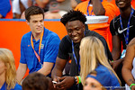 Recruits watch on during the Gators 61-13 win over New Mexico State to start the 2015 season.  September 5th, 2015.  Gator Country Photo by David Bowie.
