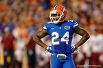 Florida Gators defensive back Brian Poole during the Gators 61-13 win over New Mexico State to start the 2015 season.  September 5th, 2015.  Gator Country Photo by David Bowie.