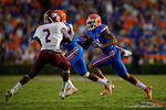 Florida Gators wide receiver Demarcus Robinson with a catch during the Gators 61-13 win over New Mexico State to start the 2015 season.  September 5th, 2015.  Gator Country Photo by David Bowie.
