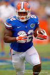 Florida Gators running back Adam Lane Jr. rushing downfield during the 2015 Orange and Blue Debut.  April 11th 2015. Gator Country photo by David Bowie.