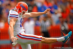 Florida Gators punter Johnny Townsend during the 2015 Orange and Blue Debut.  April 11th 2015. Gator Country photo by David Bowie.