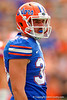 Florida Gators tight end Bair Diamond waits for play to resume during the 2015 Orange and Blue Debut.  April 11th 2015. Gator Country photo by David Bowie.