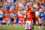 Florida Gators wide receiver Alvin Bailey looks to the sideline during the 2015 Orange and Blue Debut.  April 11th 2015. Gator Country photo by David Bowie.