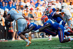 as the Gators come from behind late in the fourth quarter at home to beat the Tennessee Volunteers 28-27.  September 26th, 2015. Gator Country photo by David Bowie.