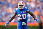 Florida Gators defensive back Marcus Maye as the Gators come from behind late in the fourth quarter at home to beat the Tennessee Volunteers 28-27.  September 26th, 2015. Gator Country photo by David Bowie.
