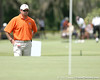 Jay Goble looks on during the first round of the NCAA Women's Golf East Regional on Thursday, May 7, 2009 at the Mark Bostick Golf Course in Gainesville, Fla. / Gator Country photo by Tim Casey