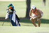Florida freshman Evan Jensen reads a green during the first round of the NCAA Women's Golf East Regional on Thursday, May 7, 2009 at the Mark Bostick Golf Course in Gainesville, Fla. / Gator Country photo by Tim Casey