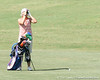 Florida sophomore Jessica Yadloczky checks the distance to the green during the first round of the NCAA Women's Golf East Regional on Thursday, May 7, 2009 at the Mark Bostick Golf Course in Gainesville, Fla. / Gator Country photo by Tim Casey
