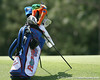 Florida freshman Evan Jensen's bag sits beside the green during the first round of the NCAA Women's Golf East Regional on Thursday, May 7, 2009 at the Mark Bostick Golf Course in Gainesville, Fla. / Gator Country photo by Tim Casey