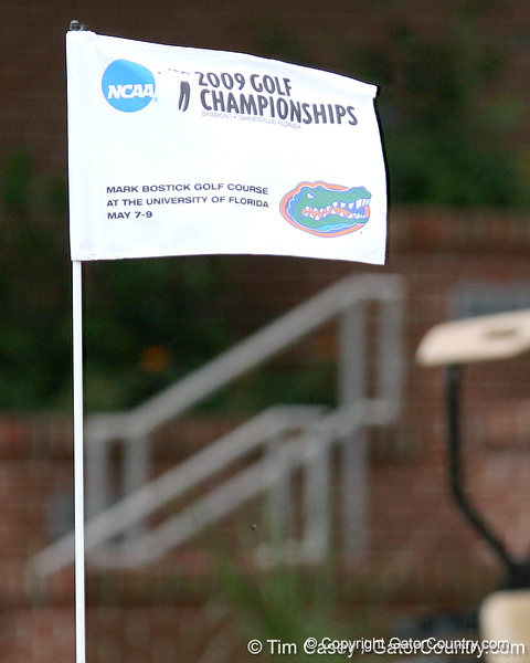 during the first round of the NCAA Women's Golf East Regional on Thursday, May 7, 2009 at the Mark Bostick Golf Course in Gainesville, Fla. / Gator Country photo by Tim Casey