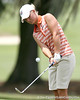 Florida sophomore Jessica Yadloczky chips on the 9th hole during the first round of the NCAA Women's Golf East Regional on Thursday, May 7, 2009 at the Mark Bostick Golf Course in Gainesville, Fla. / Gator Country photo by Tim Casey