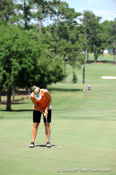 Jessica Yadloczky of the University of Florida women's golf team competes in the NCAA East Regional on Friday, May 8, 2009 in Gainesville, Fla. at the Mark Bostick Golf Course. / Gator Country photo by Casey Brooke Lawson