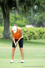 Andrea Watts of the University of Florida women's golf team competes in the NCAA East Regional on Friday, May 8, 2009 in Gainesville, Fla. at the Mark Bostick Golf Course. / Gator Country photo by Casey Brooke Lawson