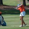 Florida freshman Camilla Hedberg tied at 2nd place scores 68/71/69 during the Gators' win at the  Suntrust Gator Women's Golf Invitational  from March 16-18  at the Mark Bostick Golf Course. / Gator Country photo by Saj Guevara