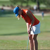 Florida junior Isabelle Lendl scores 81/80/78 during the Gators' win at the  Suntrust Gator Women's Golf Invitational  from March 16-18  at the Mark Bostick Golf Course. / Gator Country photo by Saj Guevara