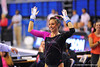 The Gator women gymnastics team defeat the LSU Tigers in the Link to Pink meet.