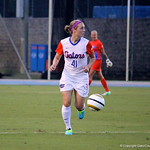 Taylor Travis during the Gators' 3-0 loss to the Florida State Seminoles on Friday, August 30, 2013 at James G. Pressly Stadium in Gainesville, Fla. / Gator Country photo by Danielle Bloch