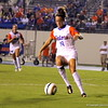 Havana Solaun with the ball during the Gators' 3-0 loss to the Florida State Seminoles on Friday, August 30, 2013 at James G. Pressly Stadium in Gainesville, Fla. / Gator Country photo by Danielle Bloch
