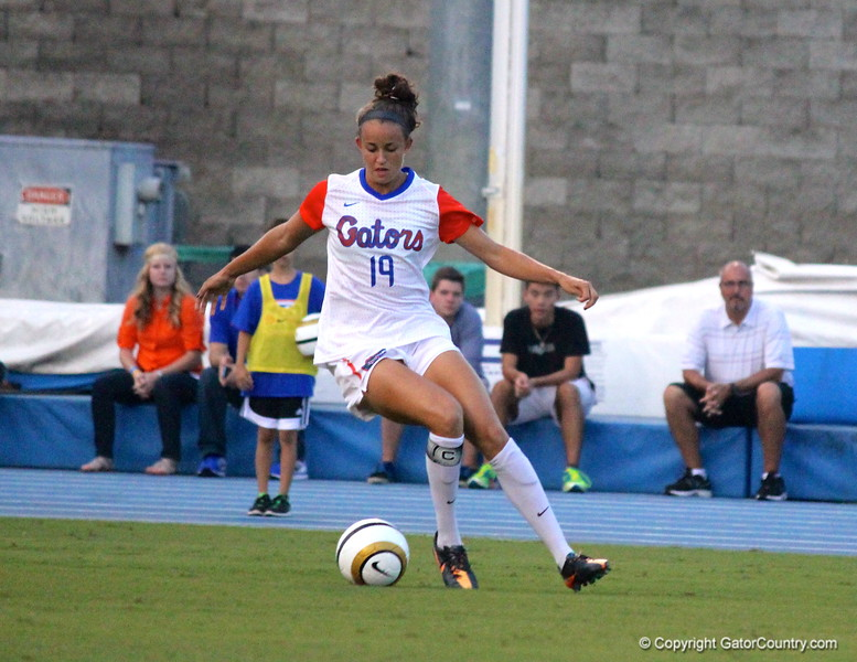 Junior Havana Solaun during the Gators' 3-0 loss to the Florida State Seminoles on Friday, August 30, 2013 at James G. Pressly Stadium in Gainesville, Fla. / Gator Country photo by Danielle Bloch