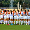 Team huddle before the Gators' 3-0 loss to the Florida State Seminoles on Friday, August 30, 2013 at James G. Pressly Stadium in Gainesville, Fla. / Gator Country photo by Danielle Bloch