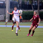 Sophomore Lauren Smith during the Gators' 3-0 loss to the Florida State Seminoles on Friday, August 30, 2013 at James G. Pressly Stadium in Gainesville, Fla. / Gator Country photo by Danielle Bloch