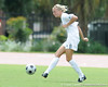 photo by Casey Brooke Lawson<br /> <br /> Florida junior midfielder Jessica Eicken makes a pass during the Gators' 2-1 win against the Kansas Jayhawks on Sunday, September 21, 2008 at James G. Pressly Stadium in Gainesville, Fla.