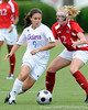 photo by Casey Brooke Lawson<br /> <br /> Florida freshman midfielder Tahnai Annis dribbles upfield during the Gators' 2-1 win against the Kansas Jayhawks on Sunday, September 21, 2008 at James G. Pressly Stadium in Gainesville, Fla.