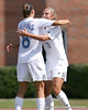 photo by Tim Casey<br /> <br /> Florida midfielder/forward Lindsay Thompson reacts after scoring a goal during the Gators' 5-1 win against the Tennessee Lady Volunteers on Sunday, September 28, 2008 at James G. Pressly Stadium in Gainesville, Fla.