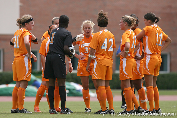 photo by Tim Casey<br /> <br /> during the Gators' 5-1 win against the Tennessee Lady Volunteers on Sunday, September 28, 2008 at James G. Pressly Stadium in Gainesville, Fla.