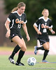 Florida senior forward/midfielder Angela Napolitano runs with the ball during the Gators' 3-0 win against the Florida International Golden Panthers on Friday, August 28, 2009 at James G. Pressly Stadium in Gainesville, Fla / Gator Country photo by Tim Casey